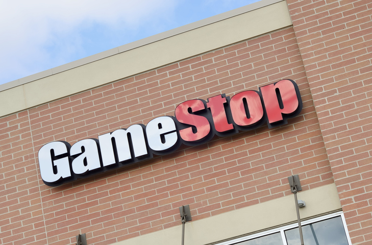 GameStop store logo